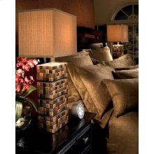 Ceramic Table Lamp (2/CN) Helki - Brown Collection Ashley at Aztec Distribution Center Houston Texas