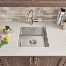 Pekoe 17x17 Stainless Steel Kitchen Sink  American Standard - Stainless Steel