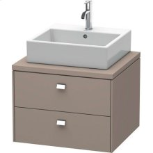 Brioso Vanity Unit For Console, Basalt Matte (decor)