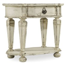 Bedroom Sanctuary Oval Nightstand