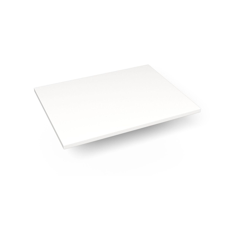 """Engineered Stone 25"""" X 19"""" X 3/4"""" Quartz Dry Vanity Top In White Zeus Extreme"""