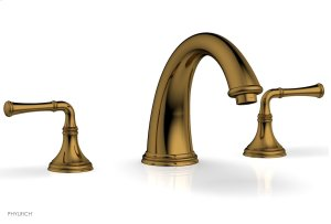 COINED Deck Tub Set - Lever Handles 208-40 - French Brass Product Image