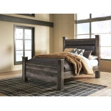 Wynnlow - Gray 3 Piece Bed Set (Queen)