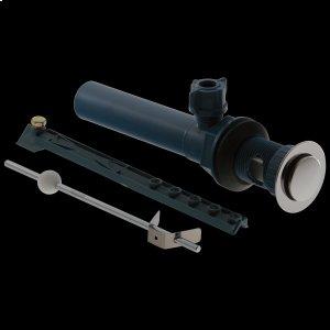 Chrome Plastic Pop-Up Assembly - Less Lift Rod Product Image