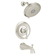 Delancey Tub and Shower Trim Kit - Water-Saving Shower Head  American Standard - Polished Nickel