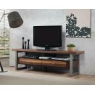 Industrial Walnut TV Console Product Image