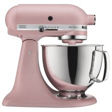 Artisan® Series 5 Quart Tilt-Head Stand Mixer Matte Dried Rose