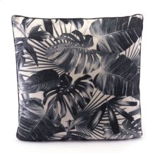Black Jungle Pillow Black & Beige