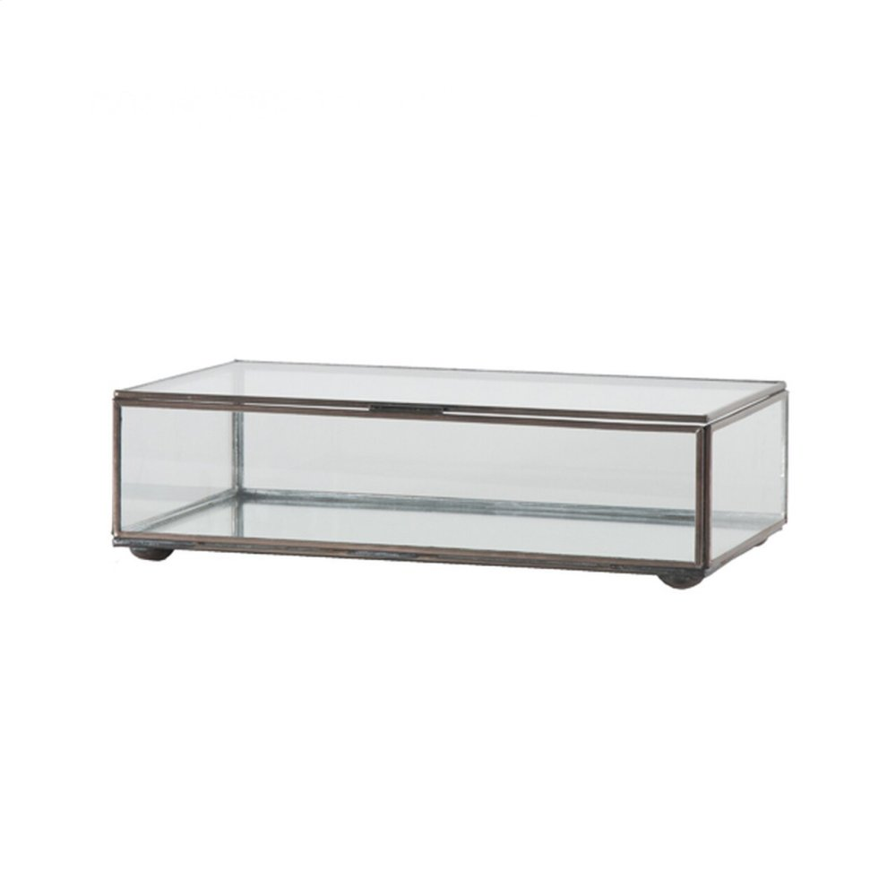 Small Rectangular Box With Clear Glass
