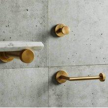Elemental Accessories Paper Holder / Aged Brass Unlaquered