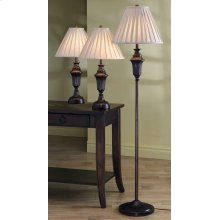 Traditional Dark Brown Lamp