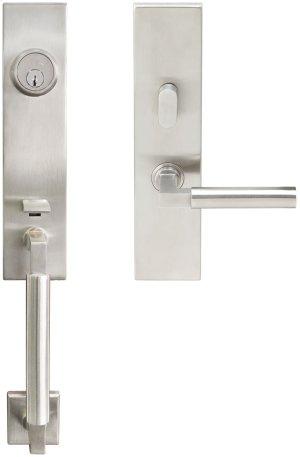"NY Handleset Tubular Aurora Entry 2-3/8"" 32D LH Product Image"