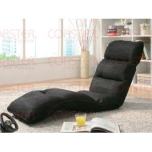 Lounge Chair - Black Fabric