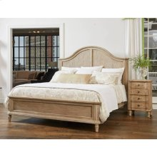 European Cottage Panel Bed - Khaki / Queen