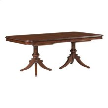 Hadleigh Double Pedestal Dining Table - Complete