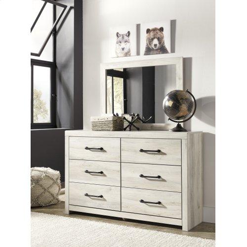 Cambeck - Whitewash 2 Piece Bedroom Set