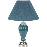 "27""H PORCELAIN LAMP(ALL GREEN) Product Image"