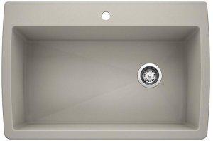 Blanco Diamond Super Single Bowl - Concrete Gray Product Image