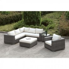 Somani L-sectional + Chair + Coffee Table + End Table
