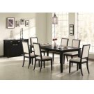 Louise Transitional Five-piece Dining Set Product Image