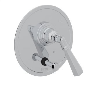 Polished Chrome San Giovanni Pressure Balance Trim With Diverter with Metal Lever Product Image