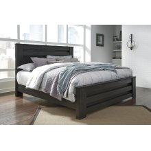 Brinxton - Charcoal 3 Piece Bed Set (King)