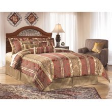 Fairbrooks Estate - Reddish Brown 2 Piece Bed Set (Queen)