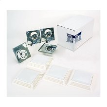 BROAN 2678F Bathroom Fan/Light Finish Pack 50 CFM Model 2678F