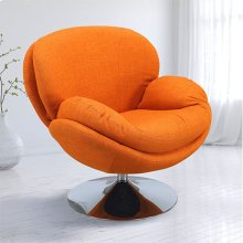 Scoop Leisure Accent Chair in Owaga Fabric