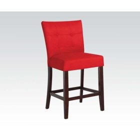 RED MFB COUNTER HEIGHT CHAIR