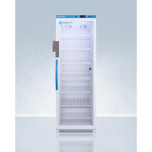 Performance Series Pharma-vac 15 CU.FT. Upright Glass Door All-refrigerator for Vaccine Storage