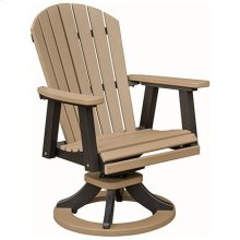 Comfo-Back Swivel Rocker Dining Chair