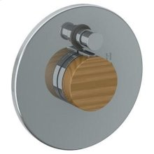 Wall Mounted Pressure Balance Shower Trim With Diverter, 7