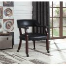 Modern Black Guest Chair Product Image