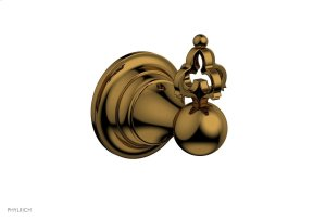 MAISON Robe Hook 163-76 - French Brass Product Image