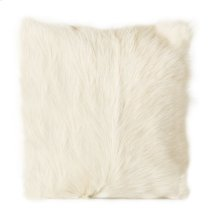 Goat Fur Pillow Natural