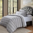 5pc Queen Duvet Set Gray Product Image