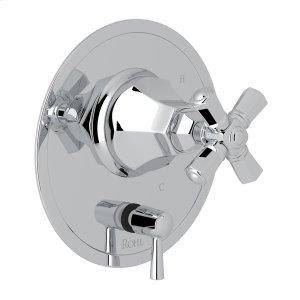 Polished Chrome Palladian Pressure Balance Trim With Diverter Product Image
