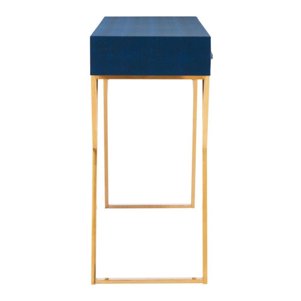 Asti Console Table Navy Blue