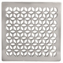 """Stainless Steel - PVD 6"""" Square Shower Drain"""