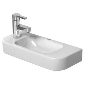 Happy D.2 Handrinse Basin 1 Faucet Hole Punched