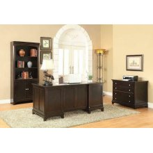 Garson Transitional Cappuccino File Cabinet
