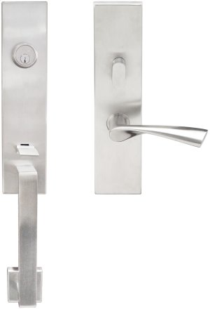 """MH Handleset Tubular Breeze Entry 2-3/8"""" 32D LH Product Image"""