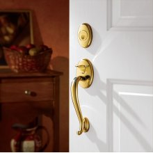 Lifetime Polished Brass Logan Sectional Trim