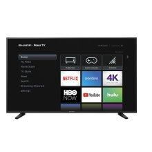 "60"" Class (59.5"" diag.) 4K Sharp Roku TV with HDR"