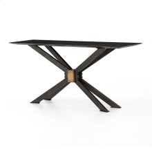 Bluestone Finish Spider Console Table