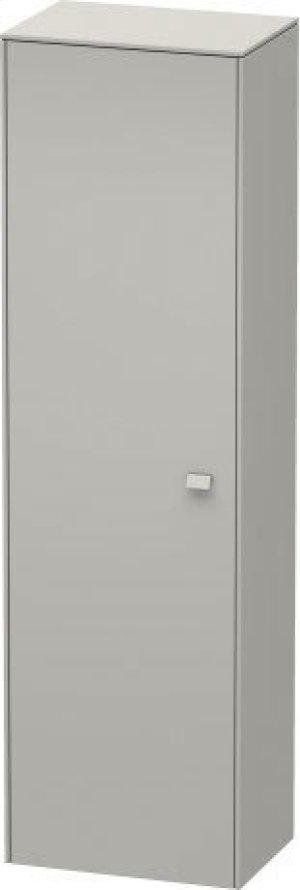 Tall Cabinet, Concrete Gray Matte (decor) Product Image