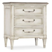 Bedroom Arabella Three-Drawer Nightstand