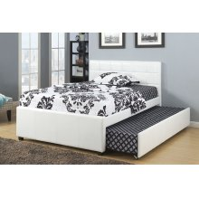 Twin Size Bed W/ Trundle