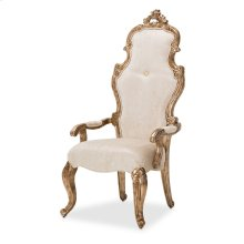 Platine De Royale Desk Chair Champagne